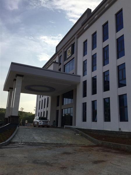 Trụ sở làm việc Công An tỉnh Tuyên Quang