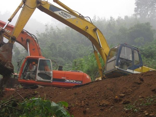 Hình ảnh công trình thủy điện Trung Sơn
