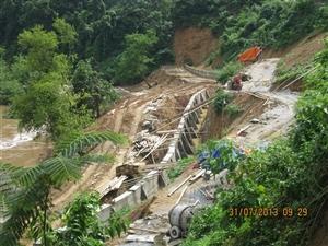 Công trình Đường Tân Mai – Tân Dân huyện Mai Châu